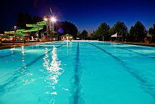 piscine avec filtre