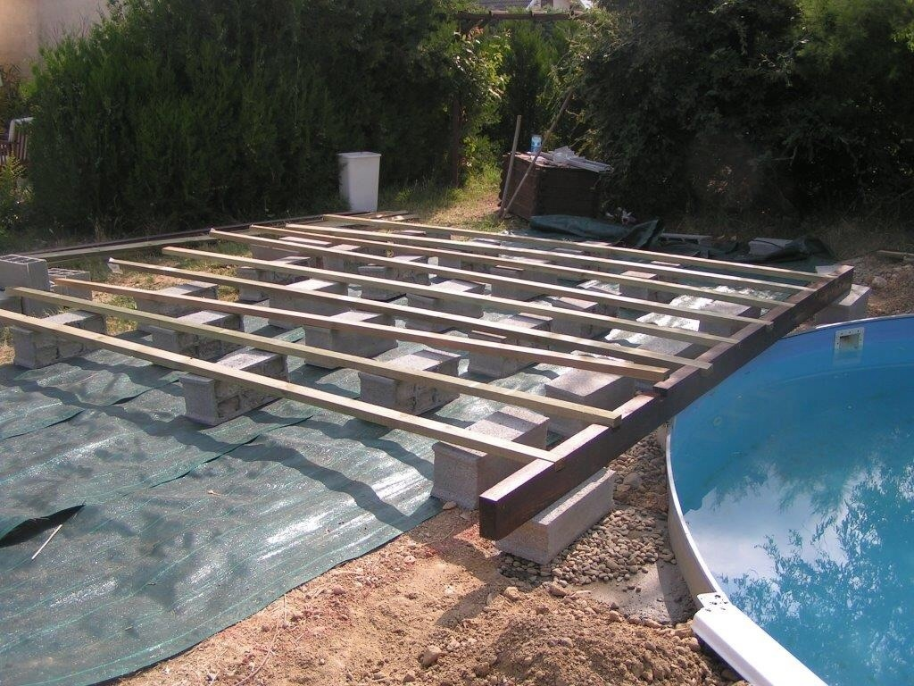 piscine en bois enterrée
